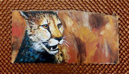 Cardboard Cheetah by TabbyTwist