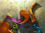 Shapes on a Wall by cranial-bore