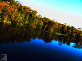 Riverside Autumn by mrmistophelees