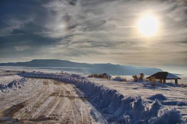 Snowy Island by MHH3
