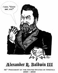 President Alec Baldwin by bld379