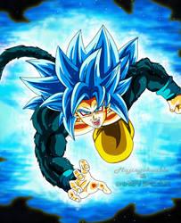 Goku SSJ Blue 4 by Majingokuable