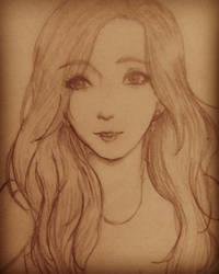 Kim Taeyeon by Aka-DenSuFreak