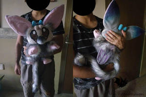 Chibi Trico HUGE size by Legadema