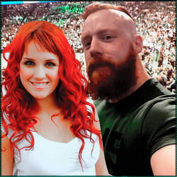 Sheamus and Kate (OC) by WWEMoments