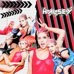 HALSEY PINK BY RICCUBERO by WWEMoments