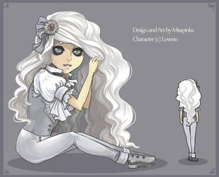 Ghost Adopt by MissPinks