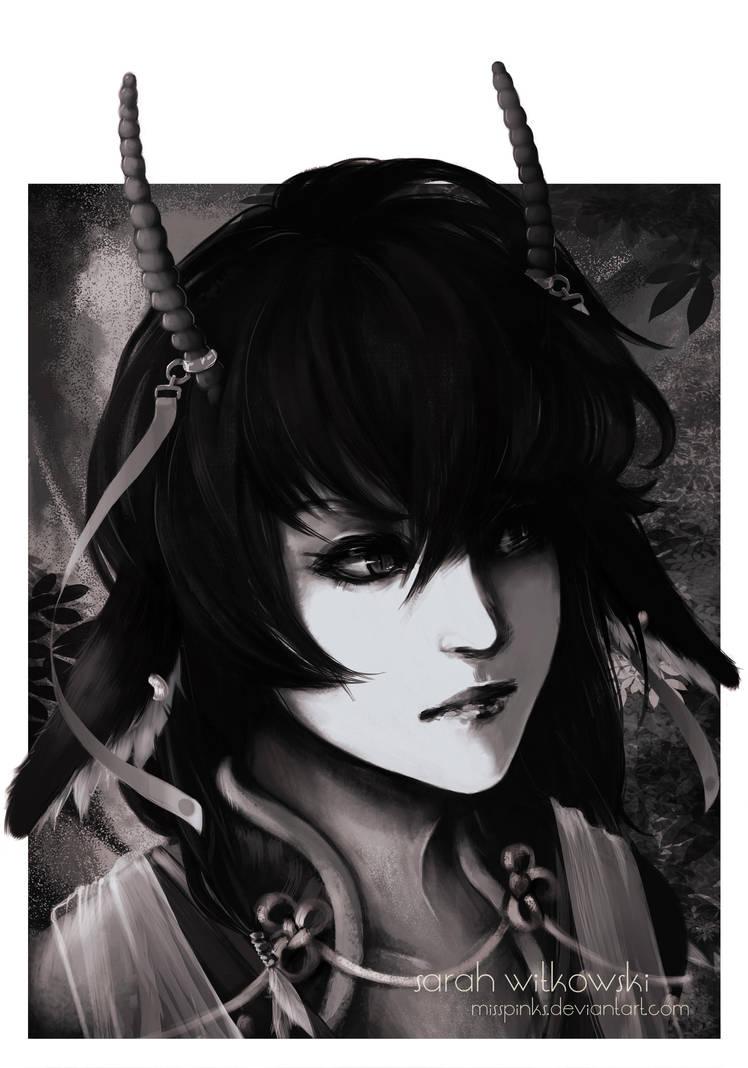 C Portrait: Harpy by MissPinks