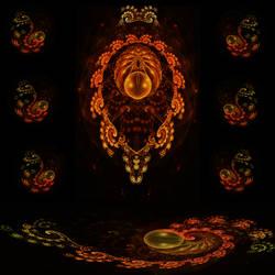 Mystic Trilobite by kofferwortgraphics
