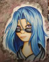 The daughter of Mitsuki sarue/Sariel by AzziranArts