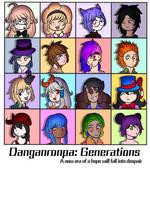 Danganronpa Generations by AzziranArts