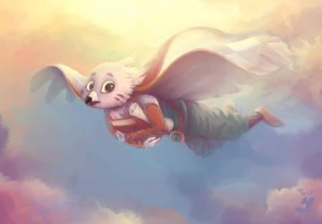 Solus (Owlboy) by TwyMouse