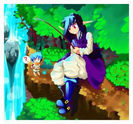 Gone Fishing by Tuyoki