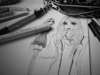 Taylor Momsen BeW version by kayelle89
