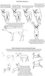 Basic Deer behavior tutorial by creepygoth666