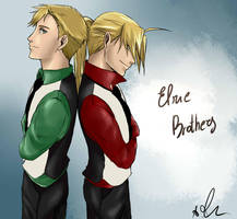 Elric Brothers by Sango94
