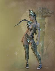 Mayan Princess by louly