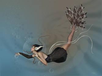 Mermaid by louly