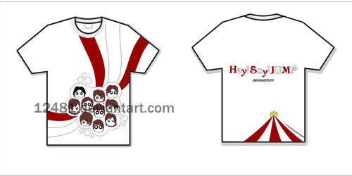 Hey! Say! Jump T-shirt by 12481