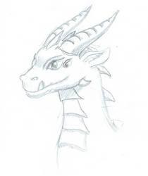 Dragon by LaqueusAxolotl