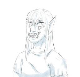 Toothy by LaqueusAxolotl