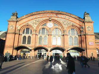 Bremen main station by IHanakoI