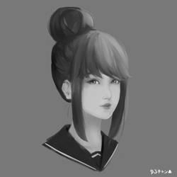 Rin Shima (Speedpaint video in desc) by khalydm