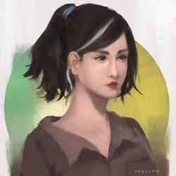 Portrait - Practice by khalydm