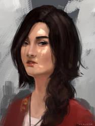 Portrait - by khalydm