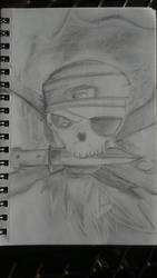 Pirate Skull by LiloPuppet