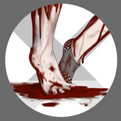 2PaperFeet ft my feet by LiloPuppet