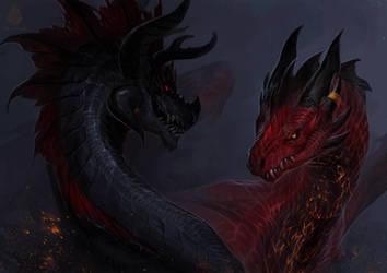 Evil Couple by Allagar