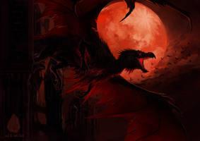 Into the Dark Night by Allagar