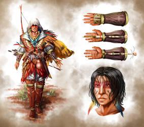 assassin's creed Concept Brazil by Lelo-Okami