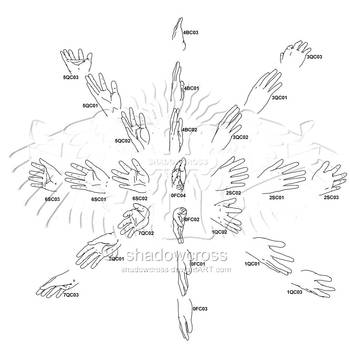 Hand Study Angle Chart 3 by Shadowcross