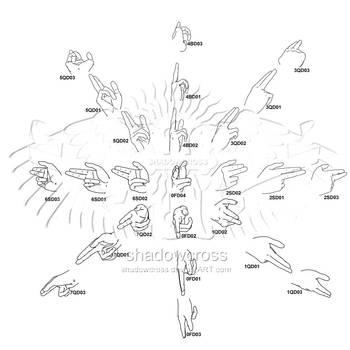 Hand Study Angle Chart 4 by Shadowcross