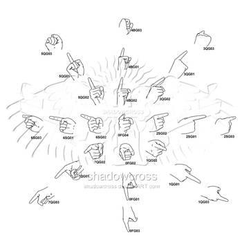 Hand Study Angle Chart 7 by Shadowcross