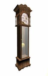 Old clock by skyledragon