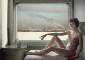 Poezd. The Flight. by KaterinaBelkina