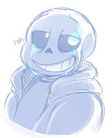 Sans Crying by ToxicSoul77