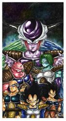 Dragon Ball Z by Fluorescentteddy