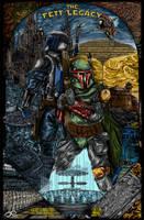 The Fett Legacy - Star Wars by Fluorescentteddy