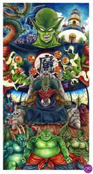 King Piccolo Saga by Fluorescentteddy