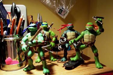My Green Team by luckycyberbunny