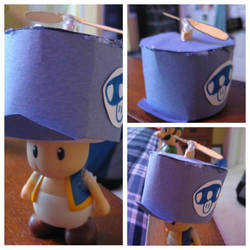 Custom Propeller Hat for Blue Toad by Demetrax1 on DeviantArt fe8b8c24e5c
