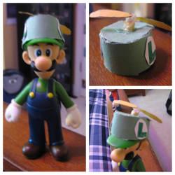 Custom Propeller Hat for Luigi by Demetrax1 on DeviantArt 5c85e565a56