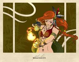 Dancing Flames by Mel2DaIssa