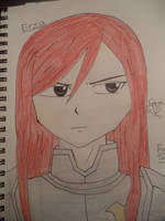 Erza by AnimeFreak8261