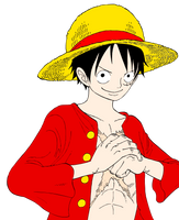 one piece Luffy 2y by AnimeFreak8261