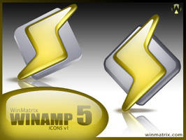 Winamp5 Icons by winmatrix